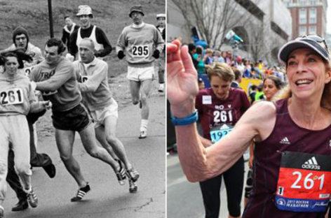 Kathrine Switzer, Boston Marathon Pioneer, Back 50 Years Later