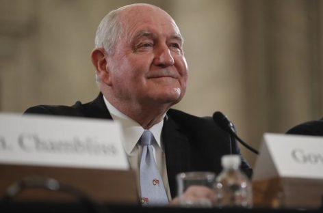 North Dakota delegation praises Perdue as ag secretary