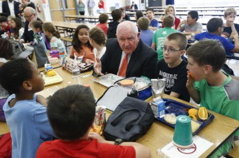 #SecretarySonny Moves to Make School Meals Great Again
