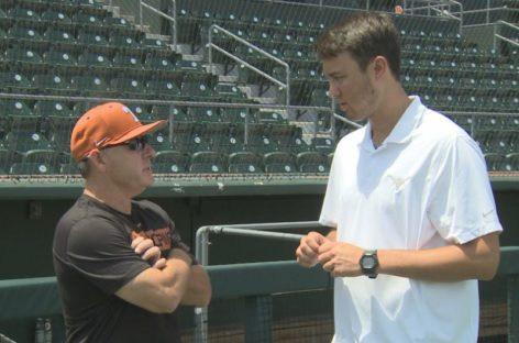Orioles select JU's Michael Baumann in Major League Baseball draft