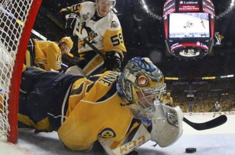 Crosby dominant in Penguins' Game 5 win over Predators