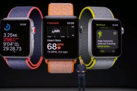 "Apple Watch Series 3 Launched With ""Electronic SIM"""