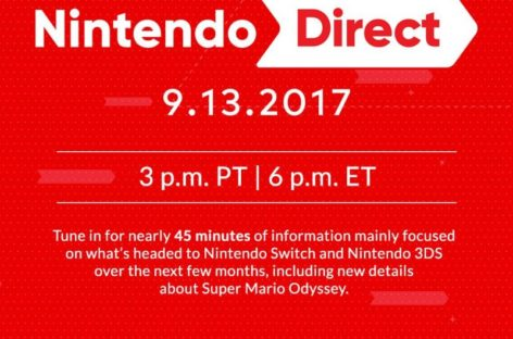 Watch Nintendo Direct live video stream