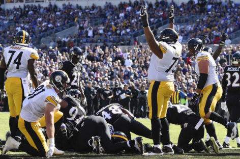 Steelers vs. Ravens: Highlights, game tracker and more