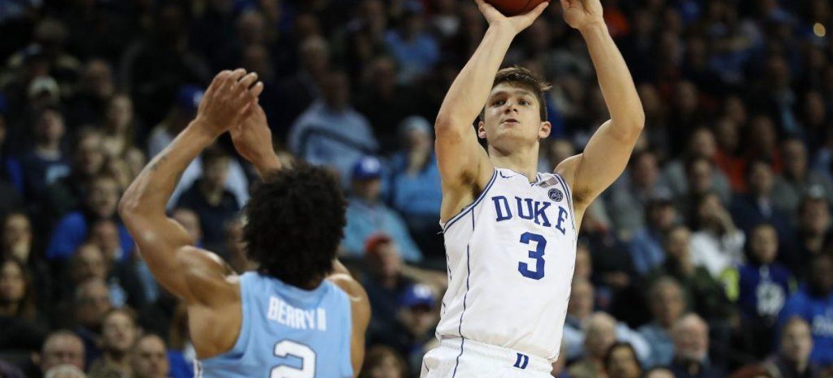 North Carolina captures trilogy game over rival Duke