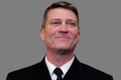 VA nominee Dr. Ronny Jackson withdraws