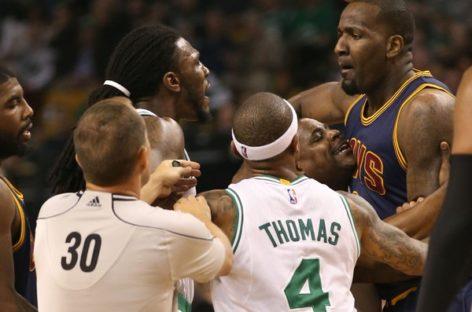 Cavs star discusses Game 2 Boston Celtics knock